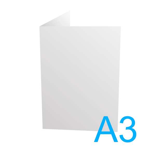 A3 - 297 x 420 mm.