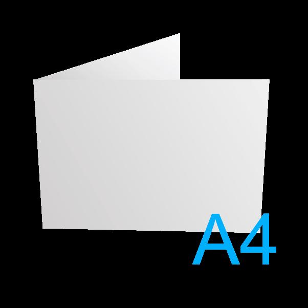 A4 - 297 x 210 mm.