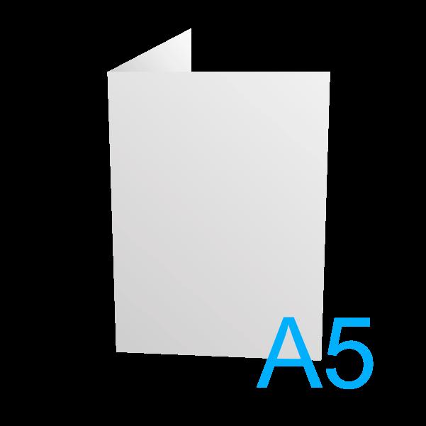 A5 - 148 x 210 mm.