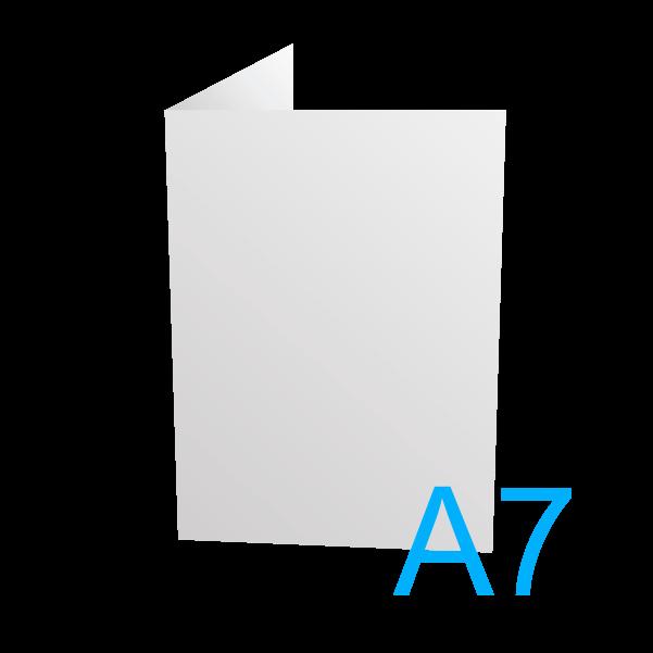 A7 - 74 x 105 mm.